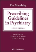 Front cover of the Maudsley Prescribing Guidelines