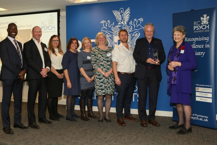 2018 RCPsych Award Winners of Psychiatric Team of the Year: Non-age Specific Integrated Psychological Medicine, Oxford University Hospitals NHS Foundation Trust