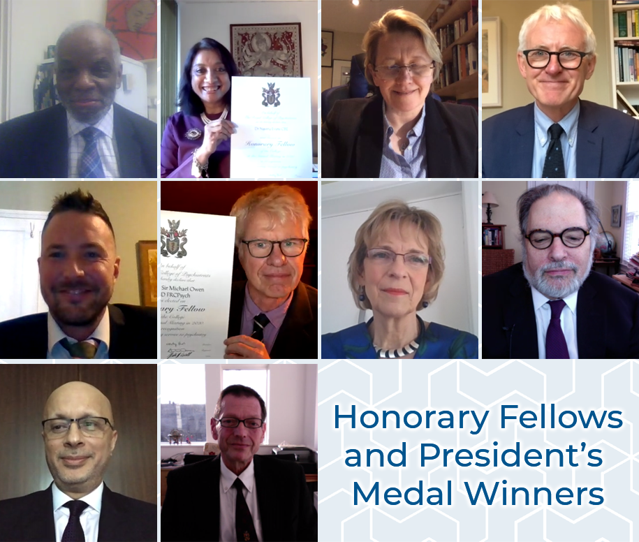 Honorary Fellows and President's Medal Winners 2020