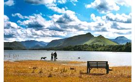 24. Montgomery - View over Derwentwater (Post submission)