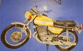 52. Alan Higgins - pre illness motorbike mechanic cropped