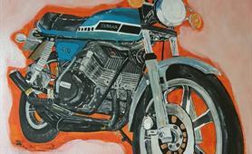 54. Alan Higgins - pre illness motorbike mechanic cropped