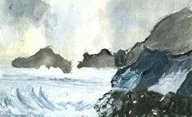 65. Roy Gilbert - Winter Storm (Alzheimers Aberdeen Art Group) cropped