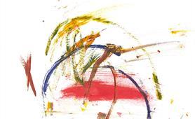 66. Ali McEchny - Tropical Sunset (Alzheimers Aberdeen Art Group) cropped