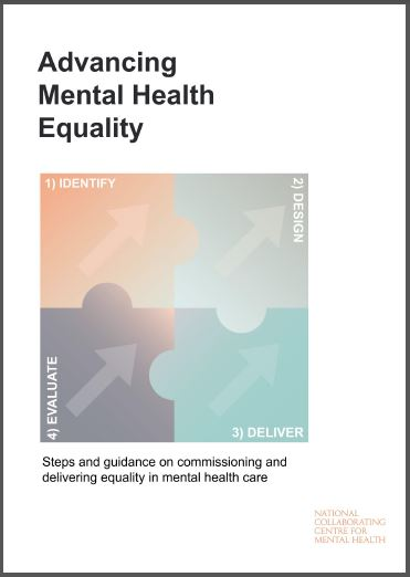 Advancing Mental Health Equality guidance