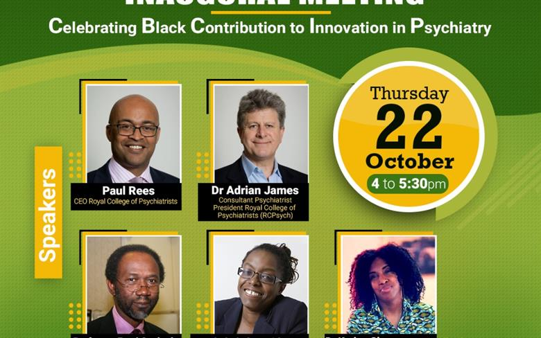 Inaugural Meeting of the Association of Black Psychiatrists, UK