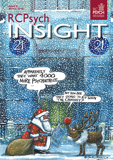 Cover of RCPsych Insight, Winter 2018