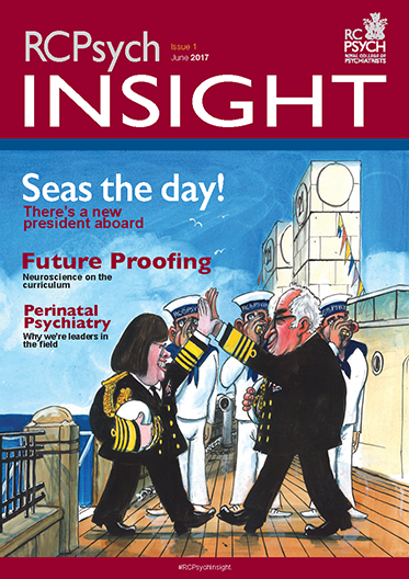 Cover of RCPsych Insight, Summer 2017