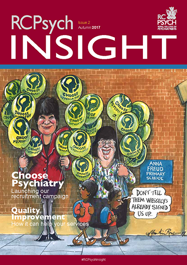 Cover of RCPsych Insight, Autumn 2017