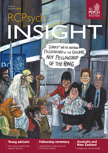 Cover of RCPsych Insight, Autumn 2018