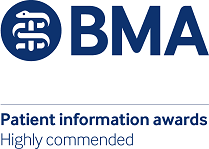 BMA Patient information awards_highly commended_200px