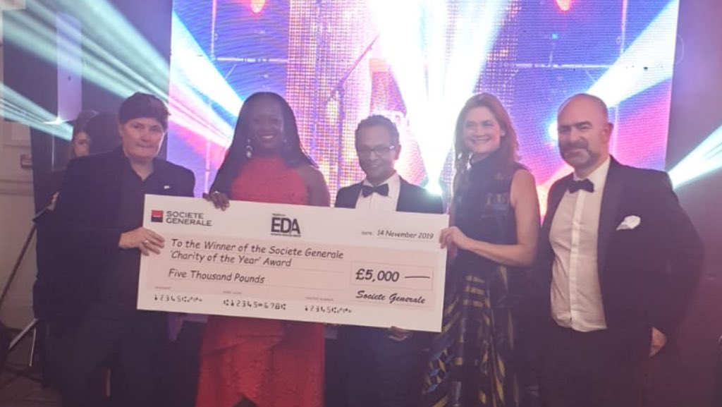 Royal College of Psychiatrists wins Charity of the Year at the 2019 European Diversity Awards