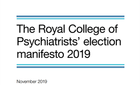 Royal College of Psychiatrists sets out bold vision to improve the country's mental health